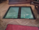 Pochozí sklo - prosklená podlaha 2