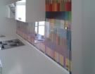 Kalené sklo - skleněné obklady do kuchyně 1