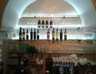 Kalené sklo - barové police
