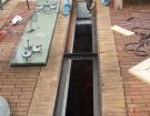 Pochozí sklo - restaurace dvůr - 20140202 - 1