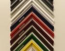 Zrcadla v kovovém rámu - rámečky vzorník - 20140202 - 1