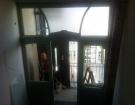 sklo do dveří 56