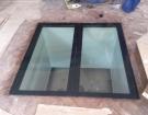 Pochozí sklo - prosklená podlaha 6