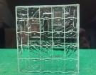 sklo do dveří 42