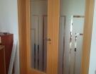 Pískování skla - dveře 1