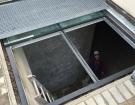 Pochozí sklo - prosklený chodník 201606 2