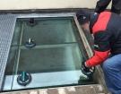 Pochozí sklo - prosklený chodník 201606 3